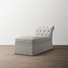 Allister Petite Armless Chaise