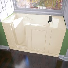 "Luxury Series 28"" X 48"" Walk-in Tub Air Bath  American Standard - Linen"
