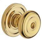 Lifetime Polished Brass 5210 Colonial Knob Product Image