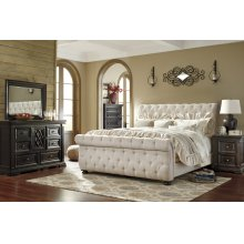 Willenburg - Dark Brown 3 Piece Bed Set (King)