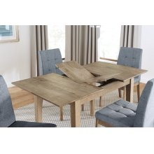 Butterfly Dining Table - Oak Finish