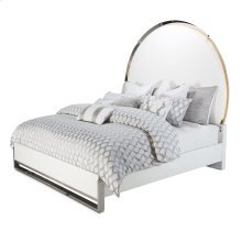 Eastern King Upholstered Bed (4 Pc)