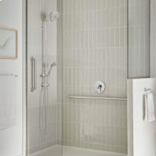 """Spectra Versa Shower System with 4-Spray Shower Head and Hand Shower - 24"""" Slide Bar  American Standard - Polished Chrome"""