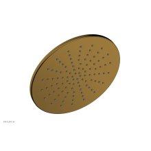 """8"""" Round Shower Head 3-334 - French Brass"""