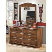 Barchan - Medium Brown 2 Piece Bedroom Set