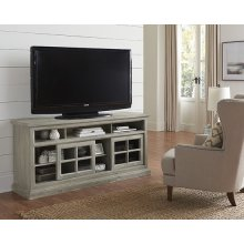 64 Inch Console - Antique Mint Finish