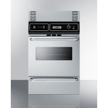 """Wall Oven Trim Kit In Stainless Steel To Extend Overall Height To 39"""""""