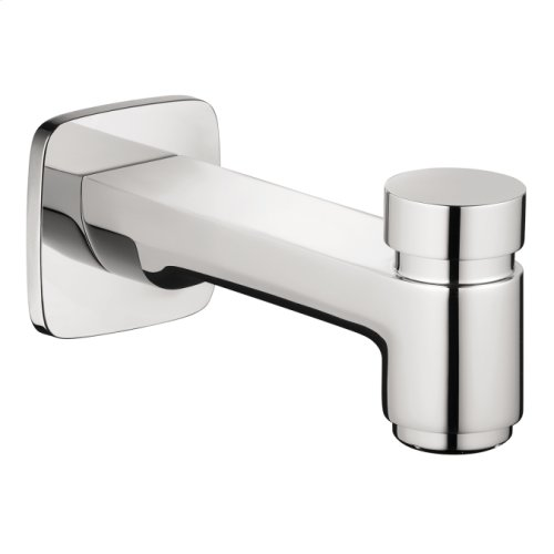Chrome Tub Spout with Diverter