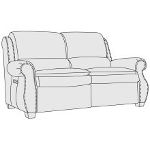 Middleton Power Motion Loveseat in Mocha (751)