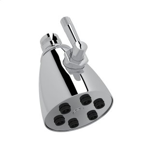 "Polished Chrome 3"" Michael Berman Graceline Adjustable Showerhead Product Image"