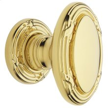 Lifetime Polished Brass 5031 Estate Knob