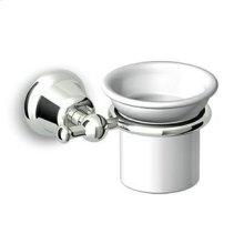 Ceramic wall tumbler holder.