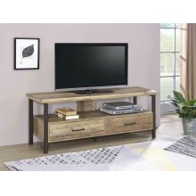 "Rustic Weathered Pine 60"" TV Console"