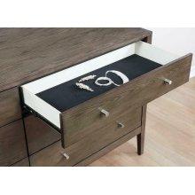 Lompoc Mid-century Modern Cappuccino Dresser