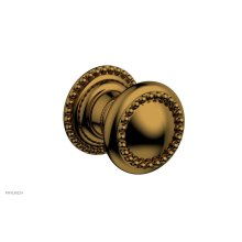 BEADED Cabinet Knob 207-90 - French Brass