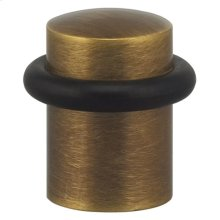 Modern Floor Door Stop in SB (Shaded Bronze, Lacquered)