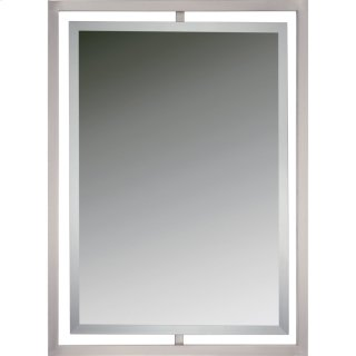 Marcos Mirror in Brushed Nickel