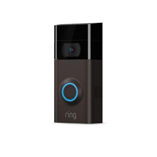 RING VIDEO DOORBELL 2 SATIN NICKEL/ BRONZE