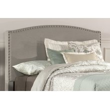 Kerstein Fabric Headboard - Queen - Headboard Frame Not Included - Dove Gray