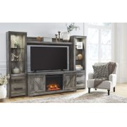 Wynnlow - Gray 5 Piece Entertainment Set Product Image