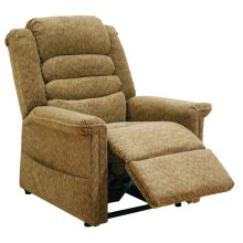 Autumn 4825 Soother Pow'r Lift Full Lay-Out Chaise Recliner with Heat & Massage