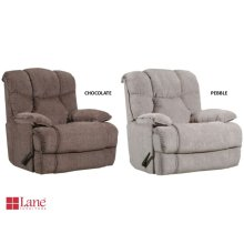 4215P-191 Power Rocker Recliner with H&M - Chocolate