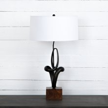 Kemp Table Lamp-white