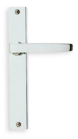 Modern Narrow Plate Lever Latchset in (Modern Narrow Plate Lever Latchset - Solid Brass) Product Image
