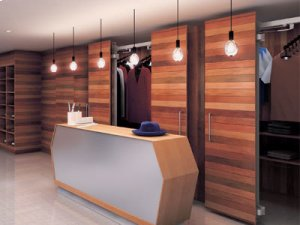 Lateral Opening Door System - Large Cabinet Doors Product Image