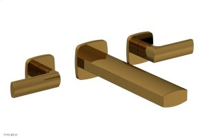 RADI Wall Tub Set - Lever Handles 181-57 - French Brass Product Image