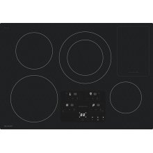 "30"" Width Induction Cooktop, European Black Mirror Finish Made With Premium Schott ®Glass"