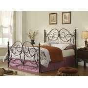 London Traditional Dark Bronze Queen Headboard Product Image