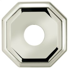 """2 5/8"""" dia. Thru-Bolted Traditional Octagonal Rose in (2-5/8"""" dia. Thru-Bolted Traditional Octagonal Rose - Solid Brass)"""