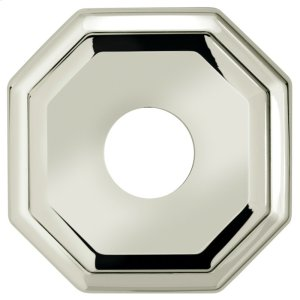 """2 5/8"""" dia. Thru-Bolted Traditional Octagonal Rose in (2-5/8"""" dia. Thru-Bolted Traditional Octagonal Rose - Solid Brass) Product Image"""