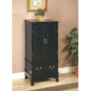 Transitional Black Jewelry Armoire Product Image
