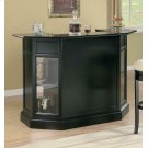 Contemporary Black Bar Unit Product Image