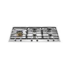 36 Segmented cooktop 5-burner Stainless Steel