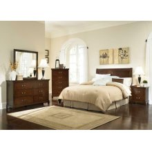 Tatiana Warm Brown Twin Four-piece Bedroom Set