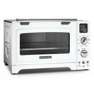 "12"" Convection Digital Countertop Oven White"