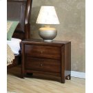 Hillary Light Coffee Two-drawer Nightstand Product Image