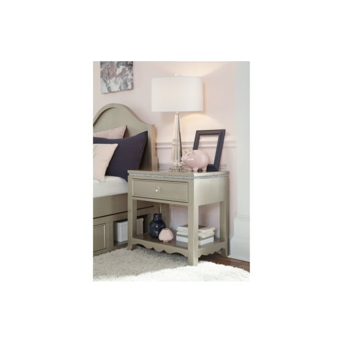 Glitz & Glam Open Night Stand