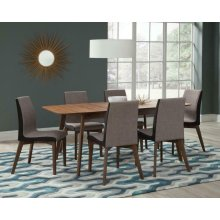 Redbridge Mid-century Modern Five-piece Dining Set