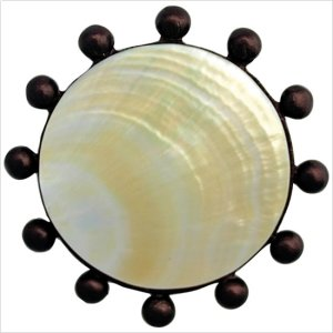 Beaded Round with Mother of Pearl Product Image