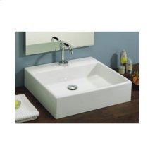 Box 50 Vessel Lavatory in White