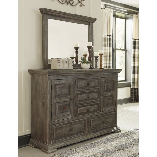 Wyndahl - Rustic Brown 2 Piece Bedroom Set
