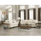 Norah Traditional White Three-piece Living Room Set Product Image
