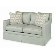 Del Mar Skirted Love Seat