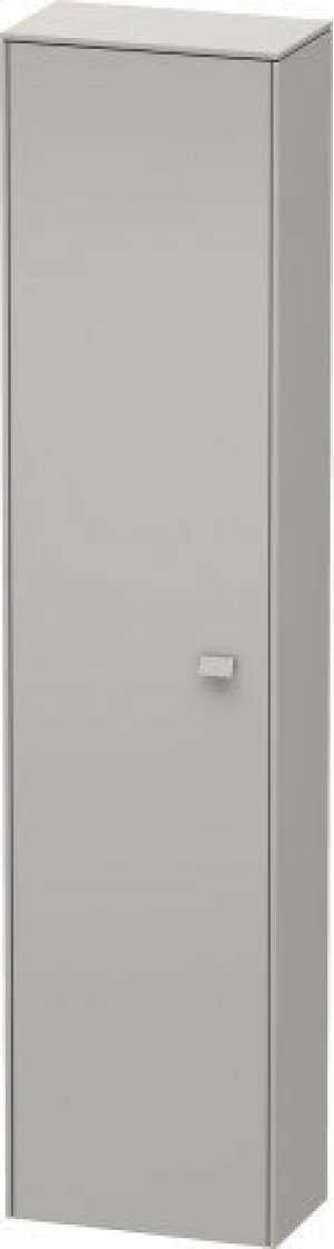 Tall Cabinet, Concrete Gray Matte (decor) Product Image