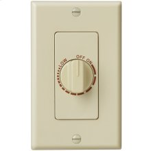 Electronic Variable Speed Control, Ivory, 3 amp capacity. 120V