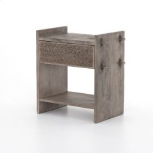 Aged Grey Finish Columbus Nightstand